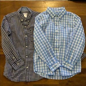 Two boys button downs 7 Vineyard Vines Carter's